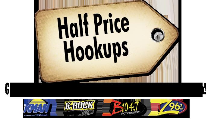 Half Price Hookup